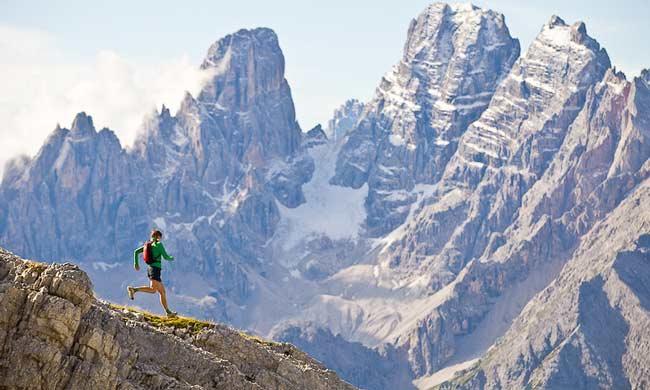 Hoe kun je het beste van een berg afrennen?  Tips voor een zo goed mogelijke Downhill running. (1/6)
