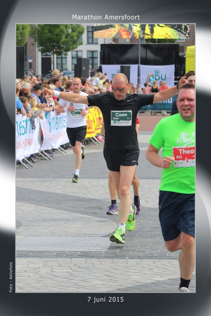 Finish 10 km Amersfoort 2015